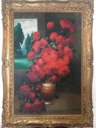 Vintage French Oil Painting (original)