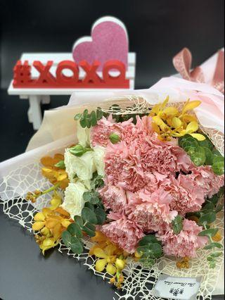 🚚 Carnation bouquet (WITH FREE DELIVERY)