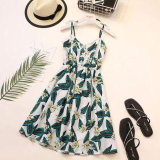 🚚 Wind Strap Beach Dress