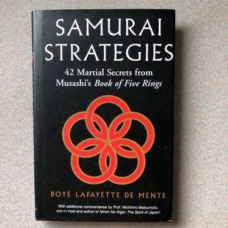 [Hardcover] Samurai Strategies - 42 Martial Secrets from Mushashi's Book of Five Rings