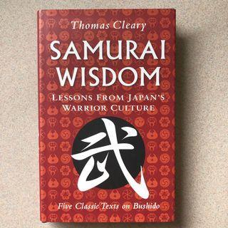 [Hardcover] Samurai Wisdom - Lessons from Japan's Warrior Culture