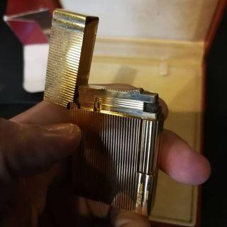 Vintage s.t. dupont gatsby lines (18237) gold