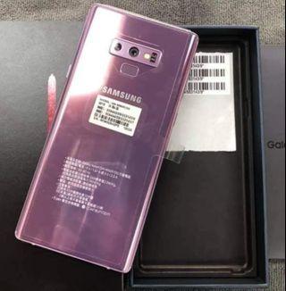 三星NOTE9 紫色 128g