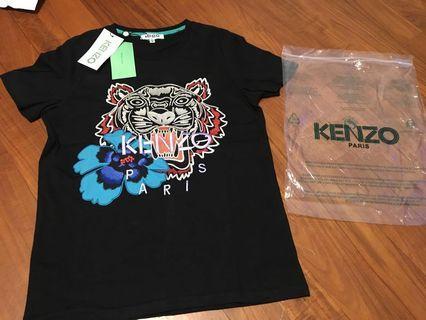 Kenzo tiger logo tee情侶tee兩件
