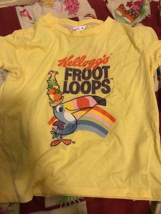 Froot loops shirt