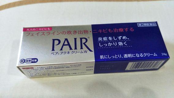 🚚 LION (JAPAN) PAIR Acne Cream W 24g Antibacterial Acne Face Cream