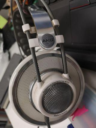 AKG reference headphones