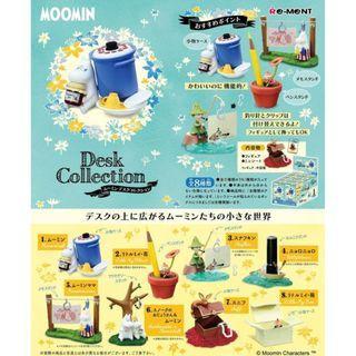 【現貨】  盒玩 Re-Ment MOOMIN Desk Collection  嚕嚕米 嚕嚕米盒玩未拆