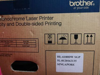 (BNIB) BROTHER HL-6180DW Monochrome laser printer