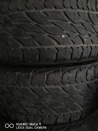 Tyre Bridgestone 697 A/T 265/65/17