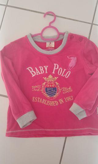 Sweater baby polo
