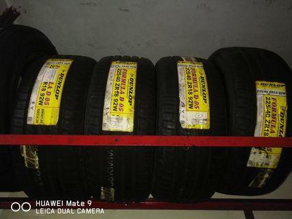 Tyre Dunlop D05 225/40/18 4pcs