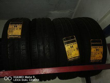 Tyre Continental CPC2 185/55/16 4pcs