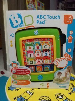 B kids - ABC Touch Pad (Spain) 6m+ 嬰兒學習玩具