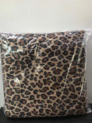 Leopard print cushions