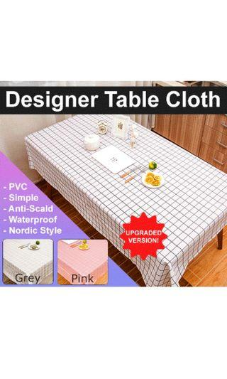 Designer PVC table Cloth Nordic style high quality assurance