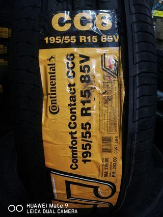 Tyre Continental CC6 195/55/15