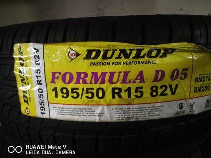 Tyre Dunlop D05 195/50/15