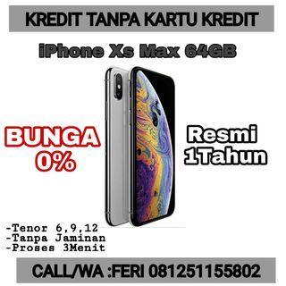 iPhone XS Max 64GB Grey Kredit Cepat 3mnit