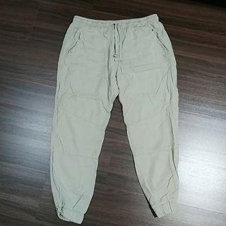 Cotton On Ladies Beige Cuffed Pants Size M UK10 UK12 UK14 L XL