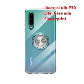 Case Huawei P30 Lite Magnetic Ring Crystal