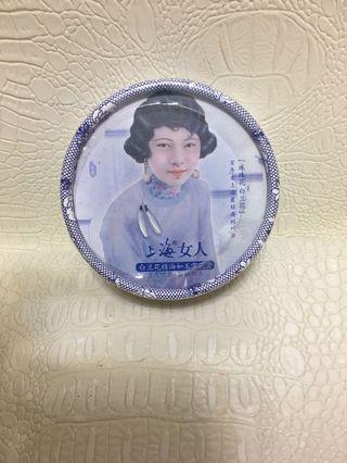 上海女人 白蘭花精油如玉雪花膏