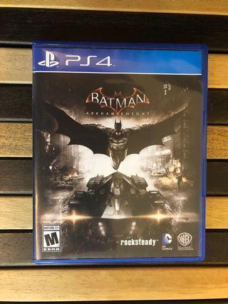 PS4 Batman Arkham Knight 日間上環 晚間美孚 多谷同步