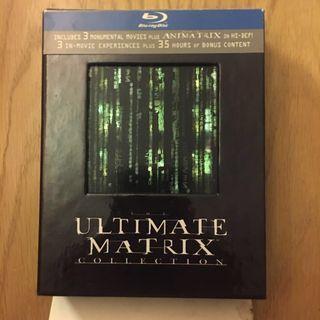 Ultimate Matrix | Matrix 4-films Set | Blu-ray |  US Edition 🇺🇸