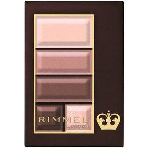 RIMMEL LONDON (JAPAN EXCLUSIVE) Sweet Chocolate Soft Matte 005 Palette