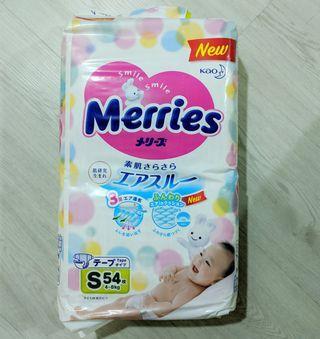 🚚 Merries Diapers S Tape
