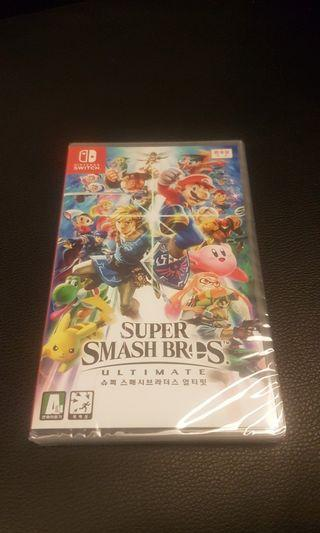 Super Smash Bro Ultimate Brand new