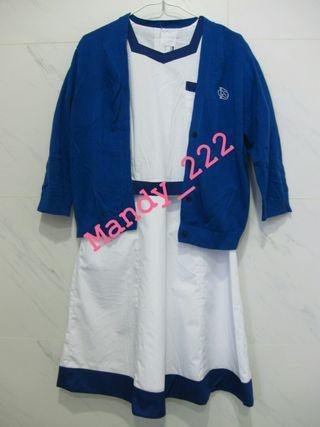 DGS 拔萃女書院 女拔 夏季 校服 校裙 連外套 Diocesan Girl School Summer Uniform Cardigan mandy_222 (SU023)