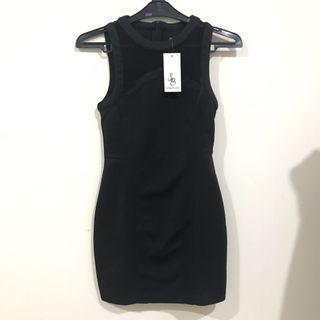 New something borrowed - black dress