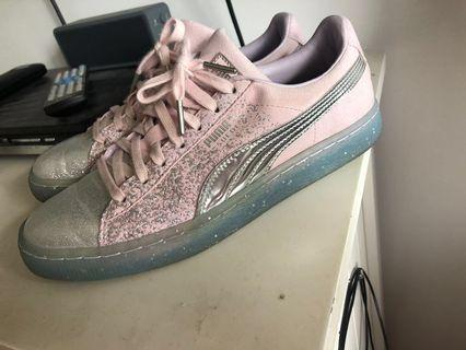 Authentic women's Puma suede Sophia Webster sneakers