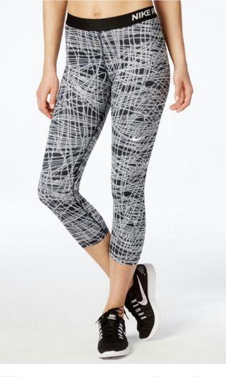 Nike Pro Dri-fit Capri Pants, Size S