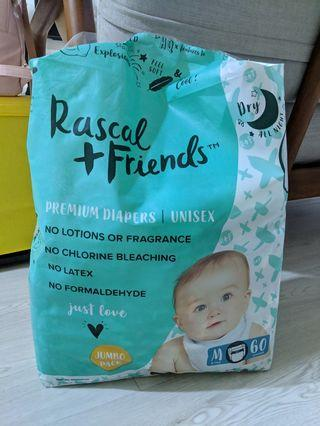 Rascal and Friends diapers size M