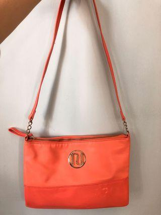 River lsland pink orange crossbody bag 橙粉斜孭袋