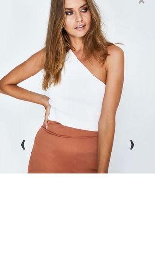 Brand new one shoulder top