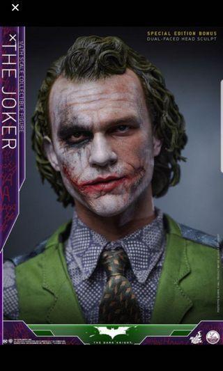 Hottoys joker次日29號早上11點54分單