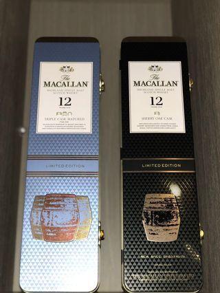 [Rare Tin Box] Macallan 12 years old Limited Edition