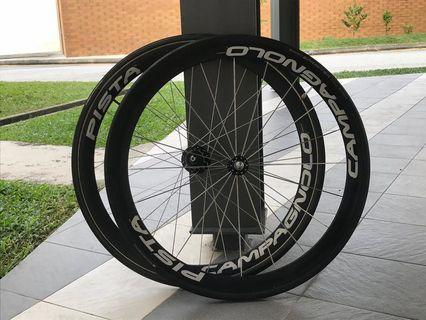 TRADES TO FIIDO    Campagnolo Pista wheelset         Cinelli,Colossi,Skream,Aventon,Leader,Unknown,Engine 11,Airwalk,Constantine,Sugino,Sram omnium,Hplusson,Miche pistard,Throne,8bar,Fixie,A2,Bicycle,Mavic Ellipse,Grun,Blb,Rinpoch,Dosnoventa,Ingria