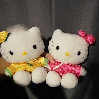 中國服Hello Kitty 公仔(對)