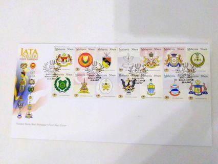 FDC-2007-Jata Negeri/State Emblems