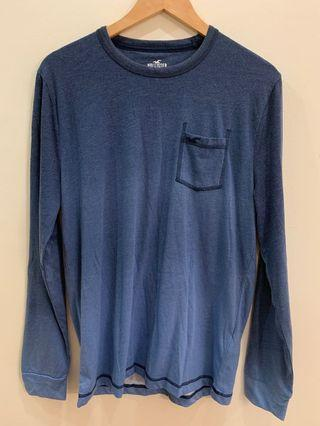 Hollister California Abercrombie and Fitch Long Sleeve Blue