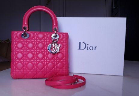 Lady Dior in Pink