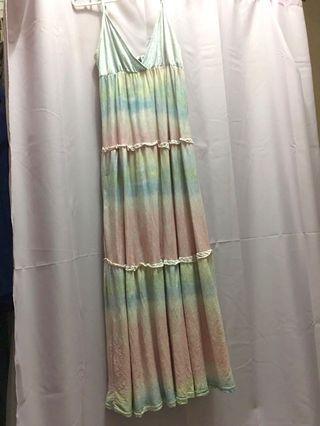 🚚 👒渡假長洋裝