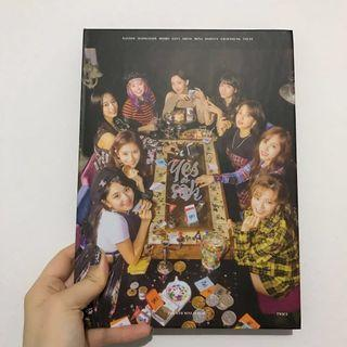 WTS JIHYO CD PLATE TWICE UNSEALED YES OR YES ALBUM