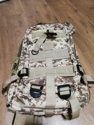 Backpack camo print