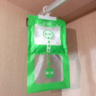 🚚 「現貨」除濕袋 120ml 大容量 防潮袋 除溼 除濕 防潮 吊掛型 掛袋 除溼包 除溼袋 衣櫥房間