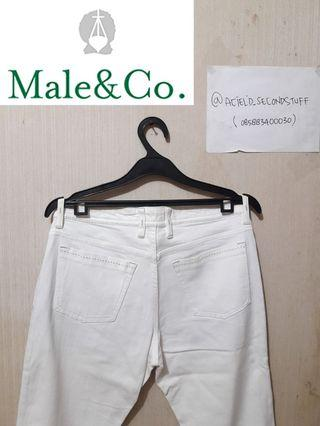 MALE&CO SKinny JEANS SELVEDGE made in JAPAN